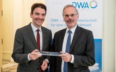 Otto Schaaf als DWA-Präsident verabschiedet