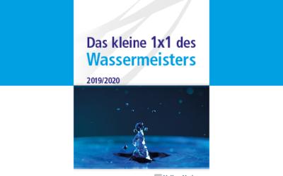 Buchtipp: Das kleine 1×1 des Wassermeisters 2019/2020
