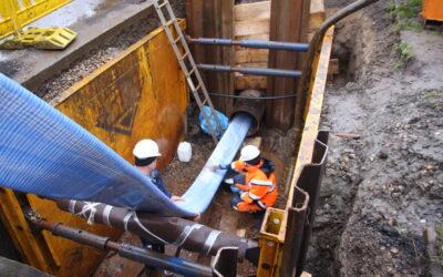 Sanierung einer DN 500-Trinkwasserleitung