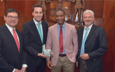 450.000 Ultraschall-Wasserzähler für Jamaika