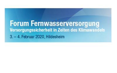 Versorgungssicherheit: Forum Fernwasserversorgung