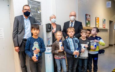 Hamburg Wasser: Trinkwasserspender für alle Hamburger Grundschulen