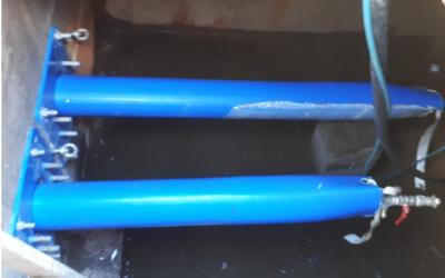 Trinkwasser-Doppeldüker unter dem Fluss Tauber