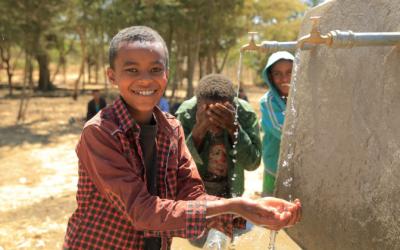 Neue Wasserversorgung in Äthiopien für 6000 Menschen