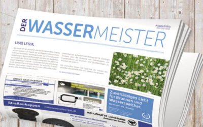 WasserMEISTER-Printausgabe 1-2021 erscheint am 29. März