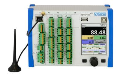 Kompakte Durchflussmessgeräte mit IoT-Funktionen
