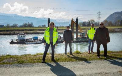 Hochwasserschutzprojekt Rhesi: Wissenschaftlicher Versuch im Rheinvorland