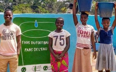 Brunnenbau: Fußballfans spenden für Trinkwasserversorgung