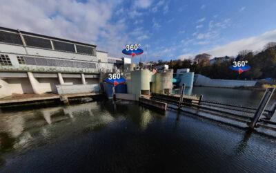 Ruhrverband bringt Infopoint zum Fischliftsystem Baldeneysee ins Netz