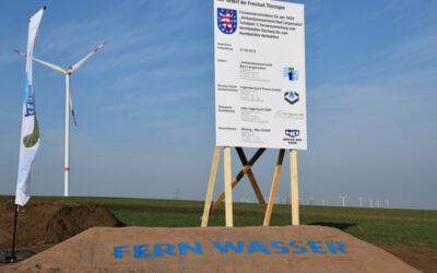 Aufträge für 16 km lange Fernwasserleitung vergeben
