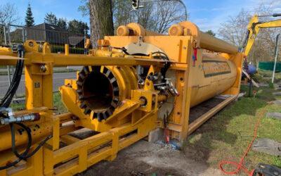 MAWV saniert 750 m lange Trinkwasserleitung DN 600 mit neuem Verfahren
