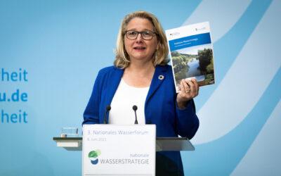Bundesumweltministerin Schulze legt Nationale Wasserstrategie vor