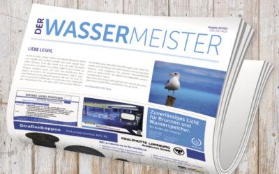 WasserMEISTER-Printausgabe 2-2021 erschienen
