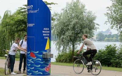 Trinkwasserspender in Hamburg sprudeln wieder