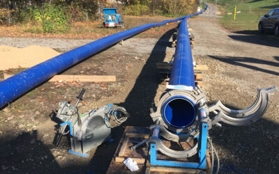 Schweinfurt saniert Wasserleitung aus Asbestzement grabenlos