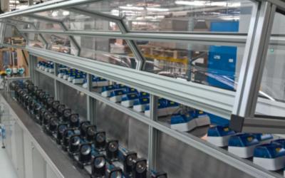 Neue Prüfstände für Wasserzähler ermöglichen hohe Messgenauigkeit