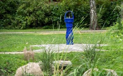 Neuer Trinkbrunnen auch für Bäume