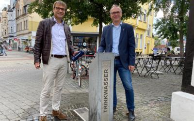 Trinkwasserbrunnen in Dattelner Fußgängerzone eingeweiht