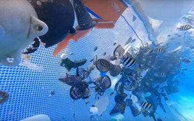 """The Ocean Cleanup"": 29 Tonnen Plastikmüll aus dem Pazifik gefischt"